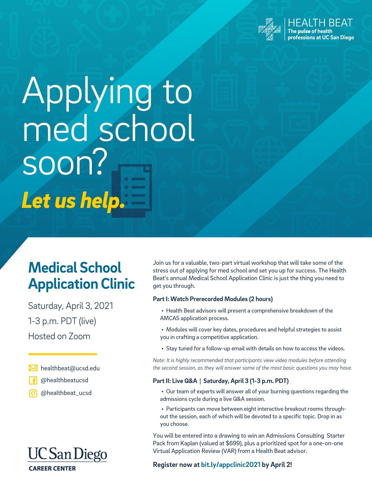 Medical School Application Clinic 2021